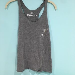"Soul Cycle ""Tap Back, Push Up"" Tank"